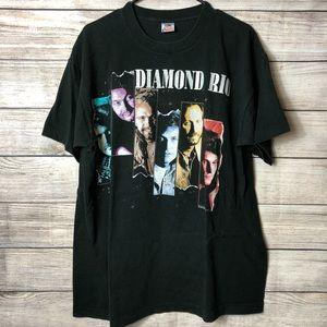 Vintage Diamond Rio Band Tour Graphic Tee USA XL